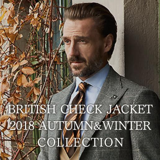 BRITISH JACKET COLLECTION 18AW