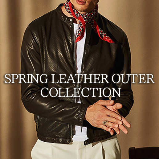 LEATHER OUTER COLLECTION 19SS